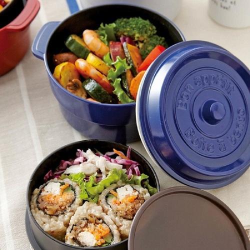 Izawa|鑄鐵鍋造型便當/野餐盒