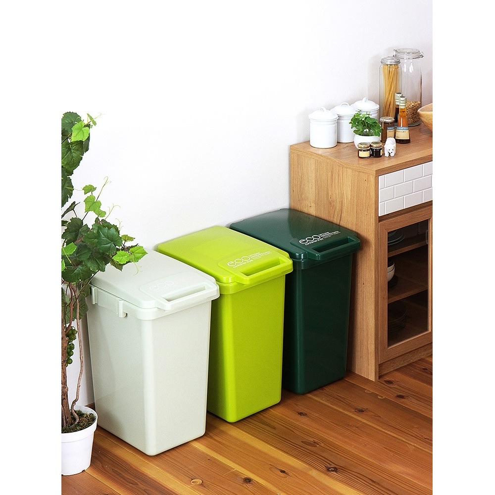eco container style 連結式垃圾桶 森林系