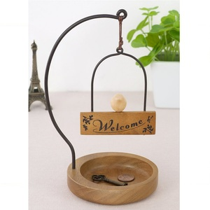 Kishima|木製小鳥玄關小物收納盤
