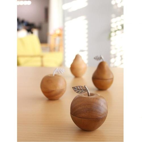 Kishima|木製蘋果置物盒