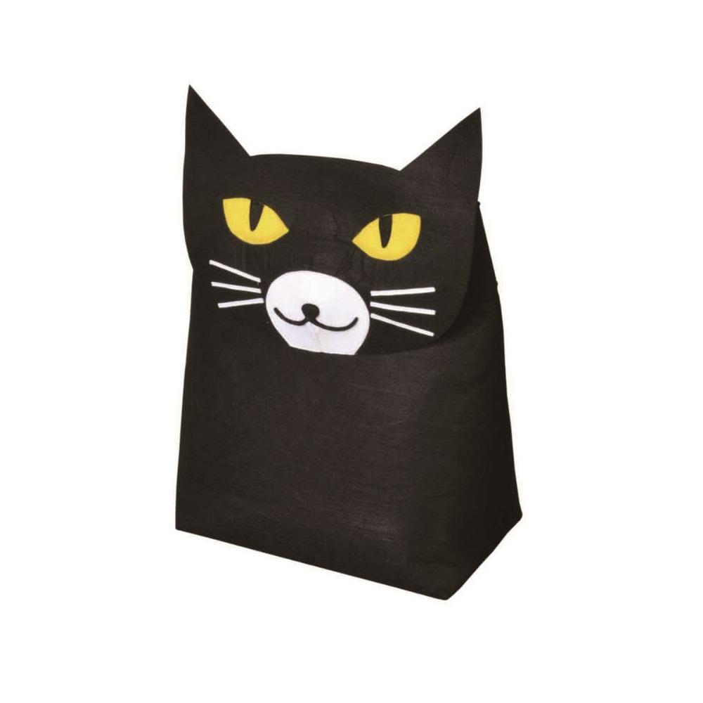 KOMPIS 北歐風可愛動物收納箱-貓咪