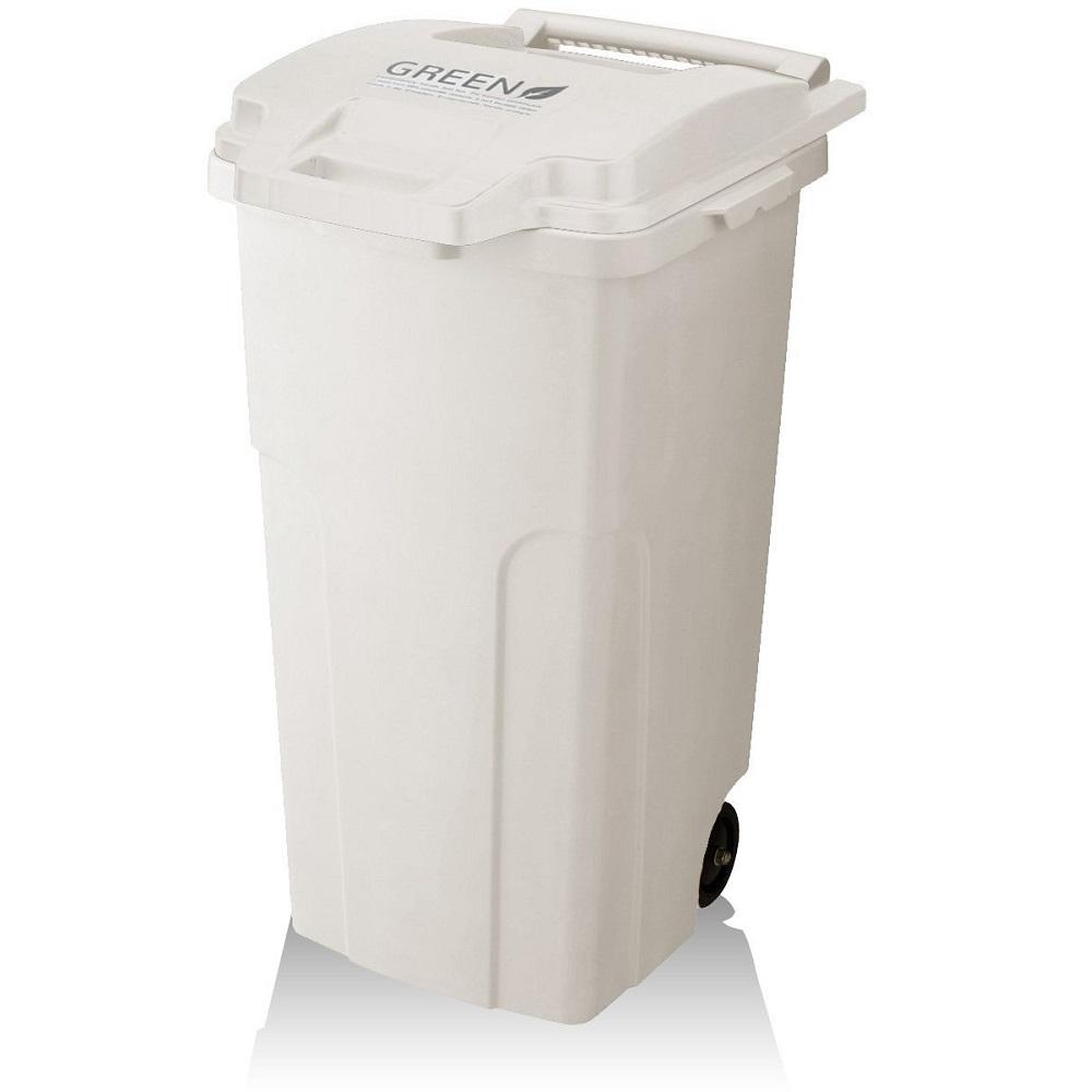 eco container style   GREEN機能型戶外拉桿式垃圾桶 90L