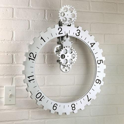 Kikkerland|大齒輪掛壁式時鐘