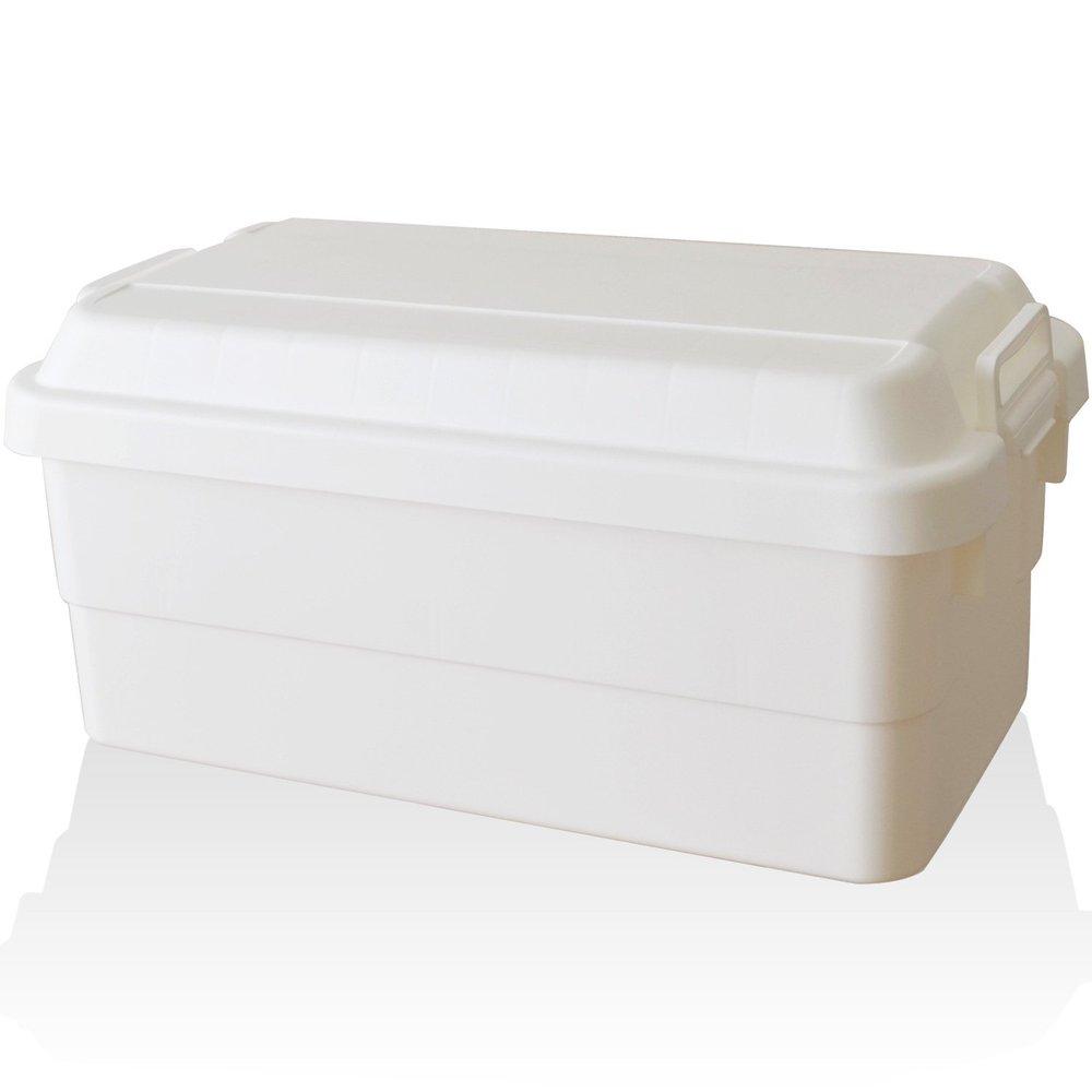 RISU|耐重收納箱 70L-純白色