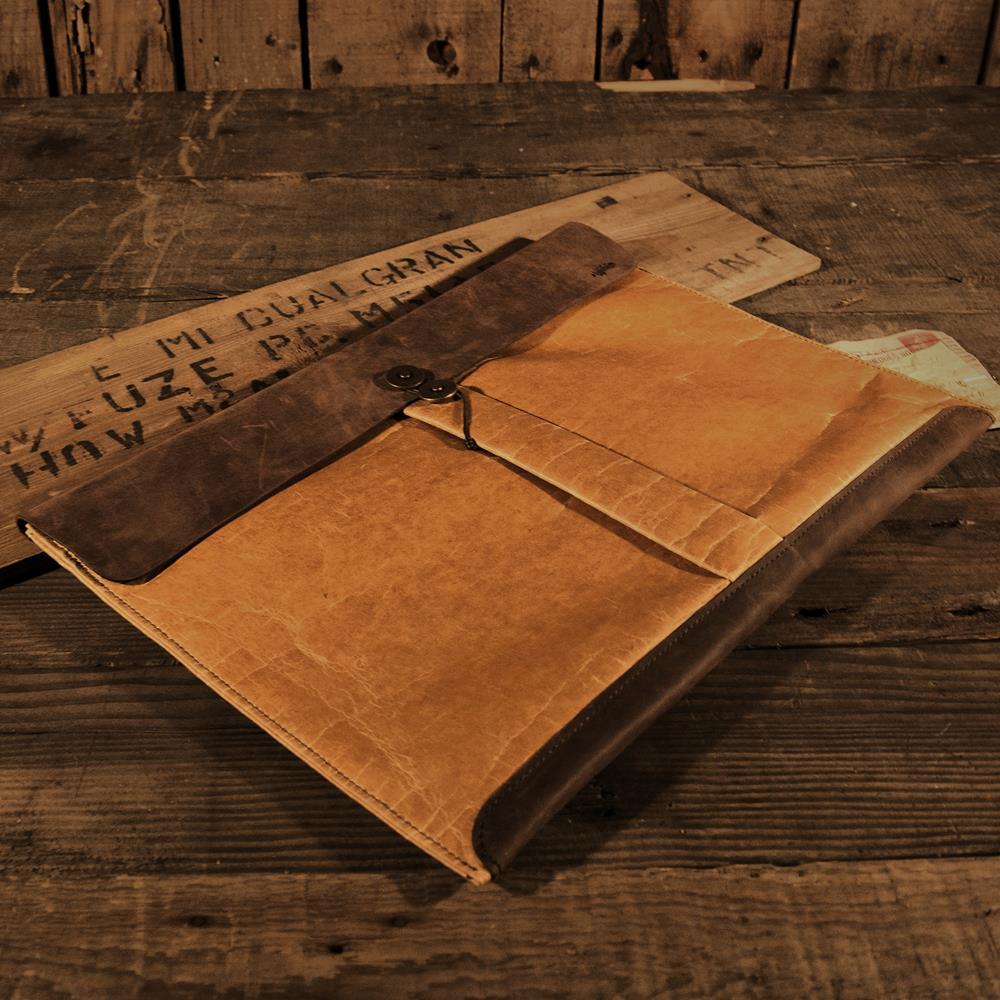 ADOLE|蠟紋布-經典MACBOOK AIR包