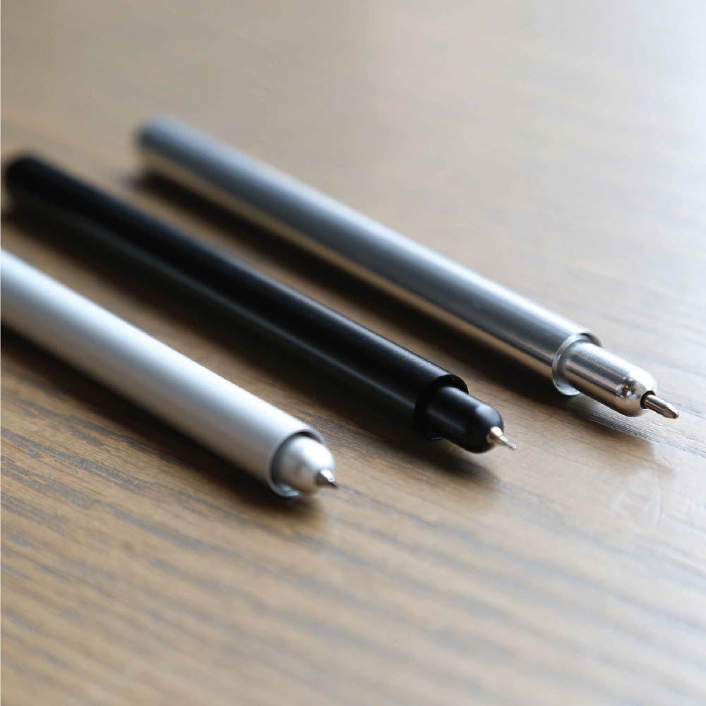 TRONNOVATE|純粹系列 鋼珠原子換芯筆 TAKUMI PURE+ (霧銀)