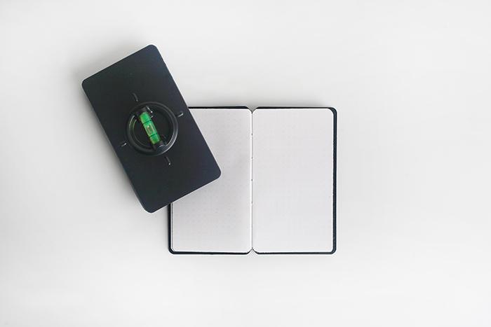 (複製)booxi   指南針造型筆記本 Compass Pocket Notebook