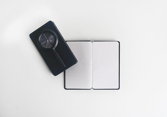 (複製)booxi | 氣泡水平儀造型筆記本 Air-Bubble Level Pocket Notebook