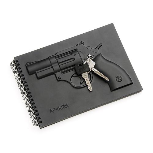 booxi|左輪手槍空白筆記本