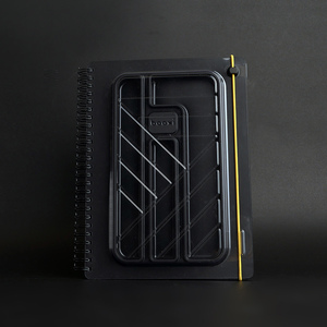 booxi | 筆具本(斜紋黃) PenBox Notebook (Twill yellow )