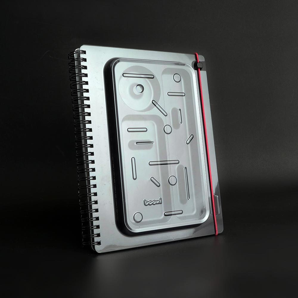 booxi | 筆具本(幾何桃) PenBox Notebook (geometric peach)