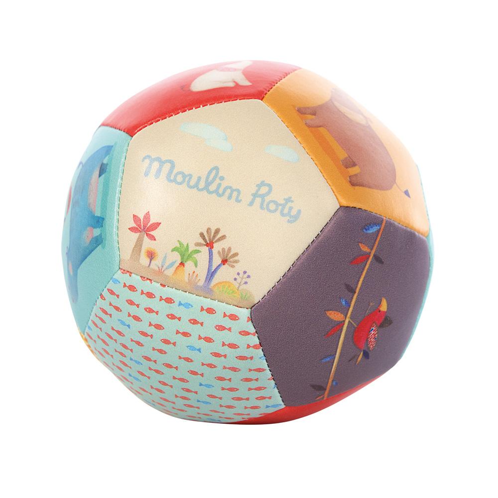 法國 Moulin Roty|Papoum 寶貝PU軟球