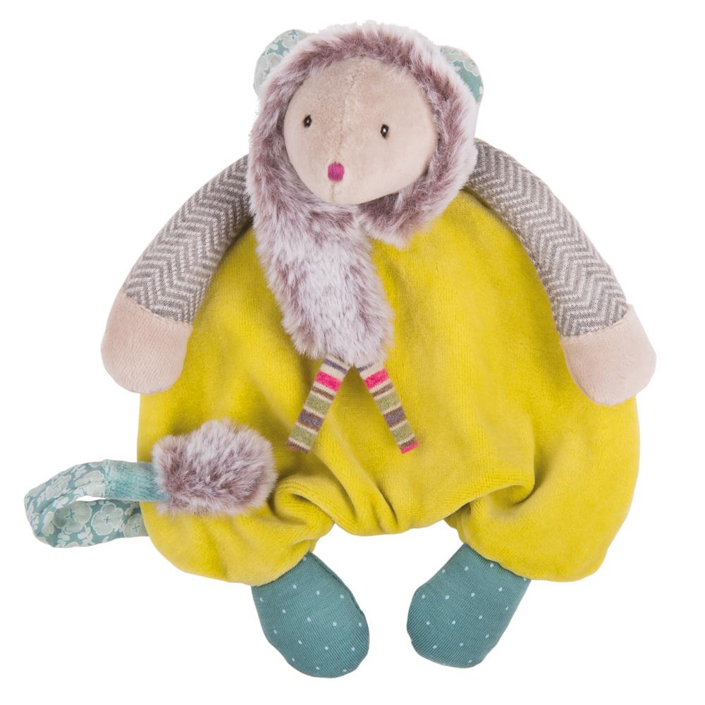 法國 Moulin Roty|帕奇綠鼠安撫娃娃 25cm