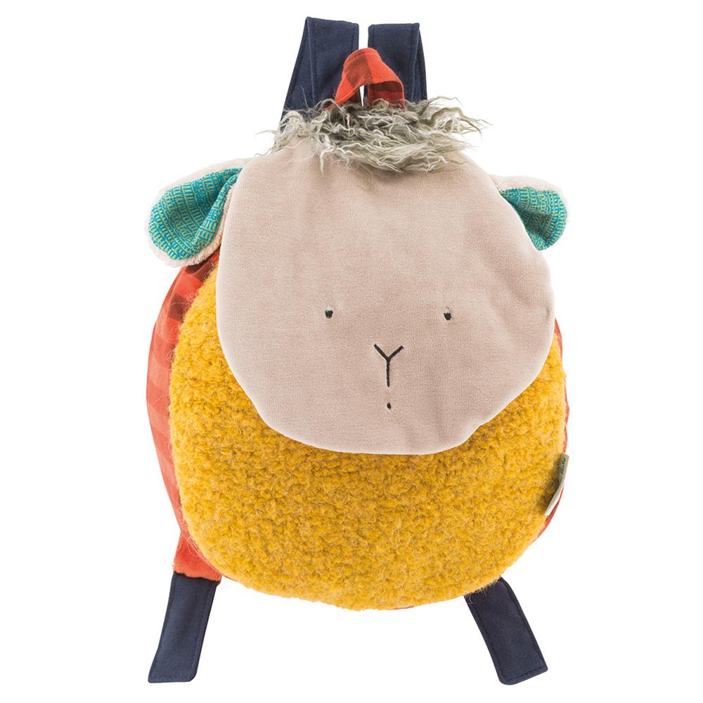 法國 Moulin Roty 齊格羊背包 (H 29 cm)