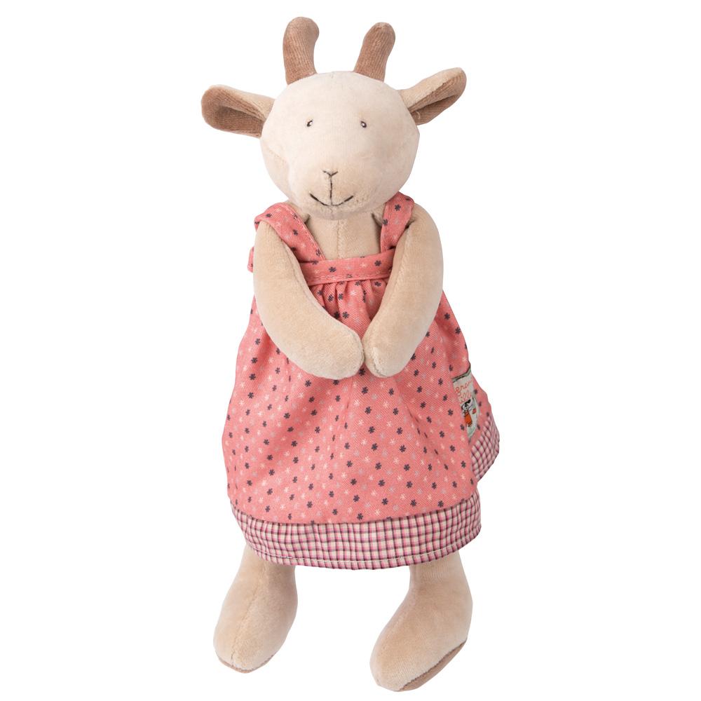 法國 Moulin Roty|歡樂家庭 Pierrette 羊 (30cm)_安撫娃娃