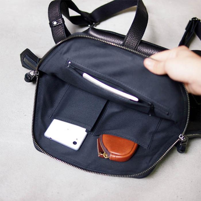 LESS DESIGN 日本都會時尚,職人六角後背包
