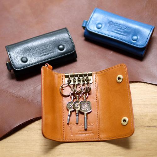 CLEDRAN 通勤時尚牛皮時尚鑰匙包