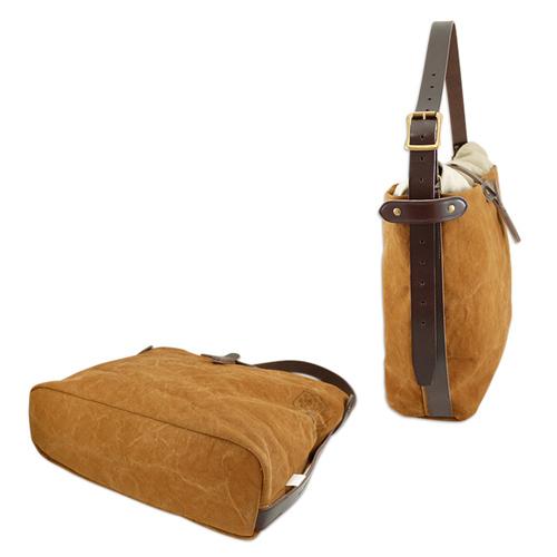 SUOLO 石蠟水洗厚磅數帆布隨行側背包