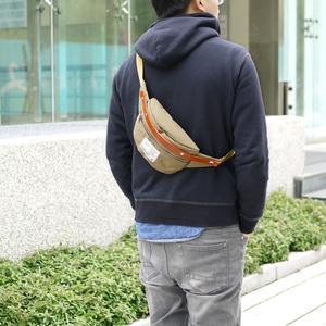 SUOLO|輕便首選 防潑水尼龍輕巧隨行腰/側背包