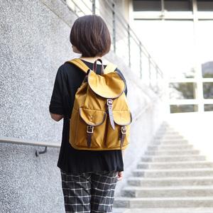 FOLNA|愛好旅行 日本抗潑水休閒尼龍後背包