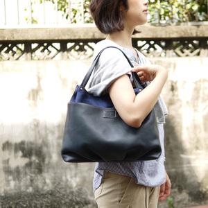 FOLNA|經典手工 植鞣全皮革經典托特/側背包