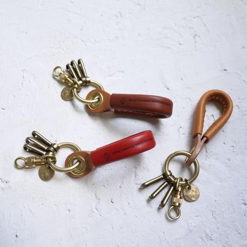 TEHA'AMANA 手工造型皮革鑰匙圈