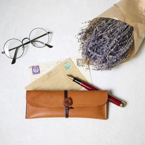 HANDIIN|日系推薦款 手作真皮繞式筆袋