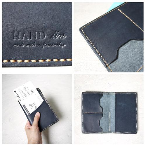 HANDIIN 經典旅程  植鞣手工牛皮革護照夾/護照套