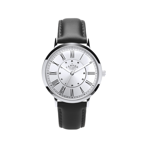 Camden Watch |純英國血統 商務時尚羅馬數字真皮腕錶