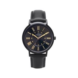 Camden Watch |純英國血統  限量款黑潮錐型飾釘時尚真皮腕錶