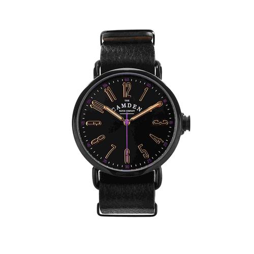 Camden Watch |純英國血統 限量款黑潮個性真皮腕錶