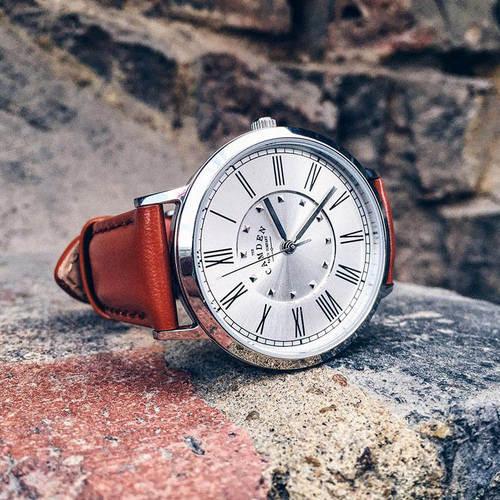 Camden Watch|NO27系列 純英國血統 英倫羅馬數字真皮腕錶