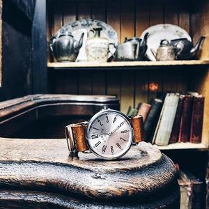 Camden Watch|NO88系列純英國血統 都會雅痞個性真皮腕錶