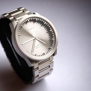 LEFF amsterdam tube 北歐工業齒輪設計腕錶 (42mm ,不銹鋼、銀鋼帶)