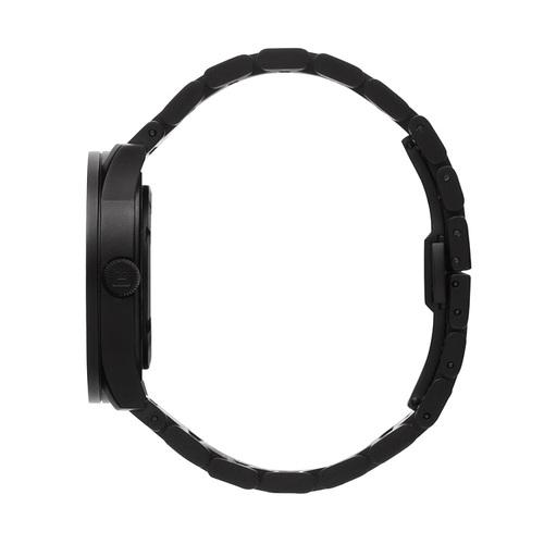 LEFF amsterdam tube  北歐工業齒輪設計腕錶 (42mm,霧黑、黑鋼帶)
