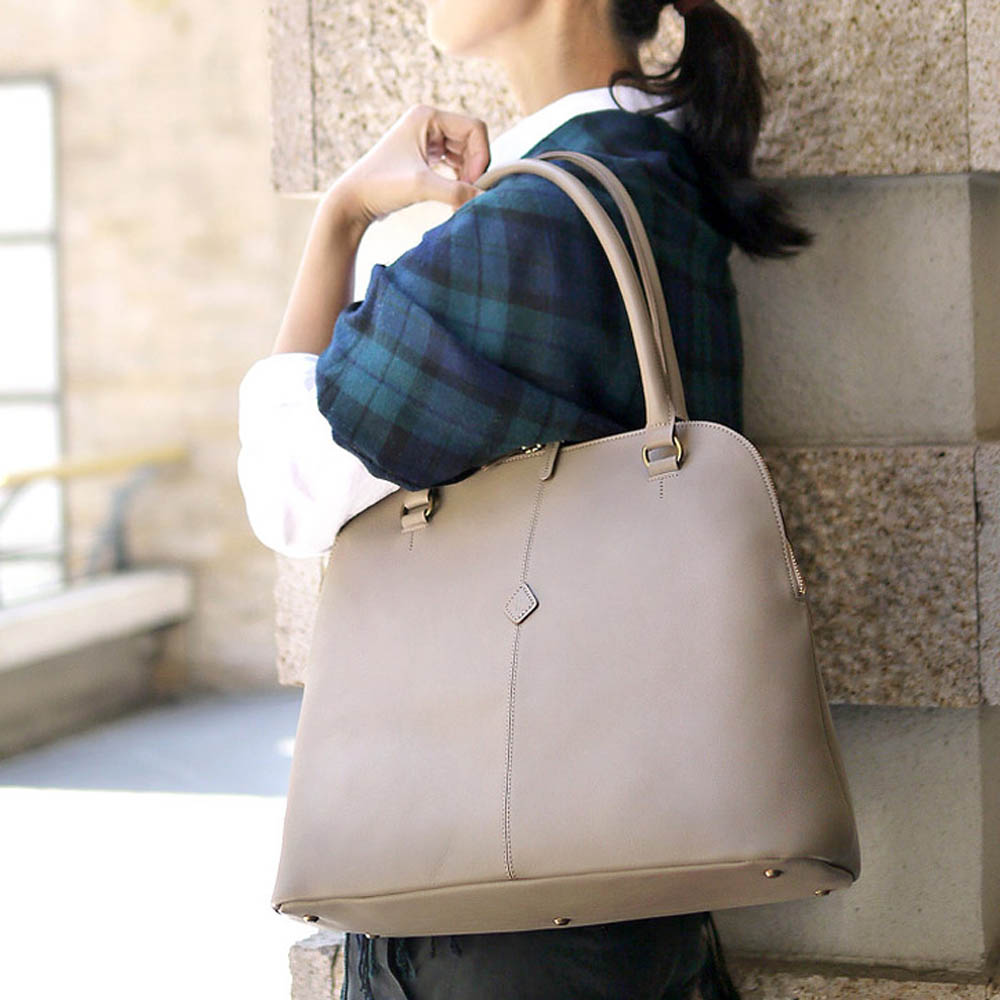 CLEDRAN 日系時尚簡約通勤肩背包波士頓包