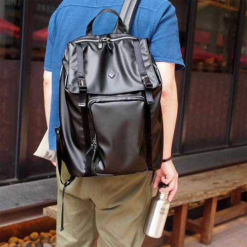 CLEDRAN 日本職人款 行動機能電腦防潑水後背包