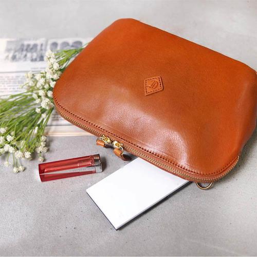 CLEDRAN|日系休閒隨身兩用側背包/手拿包