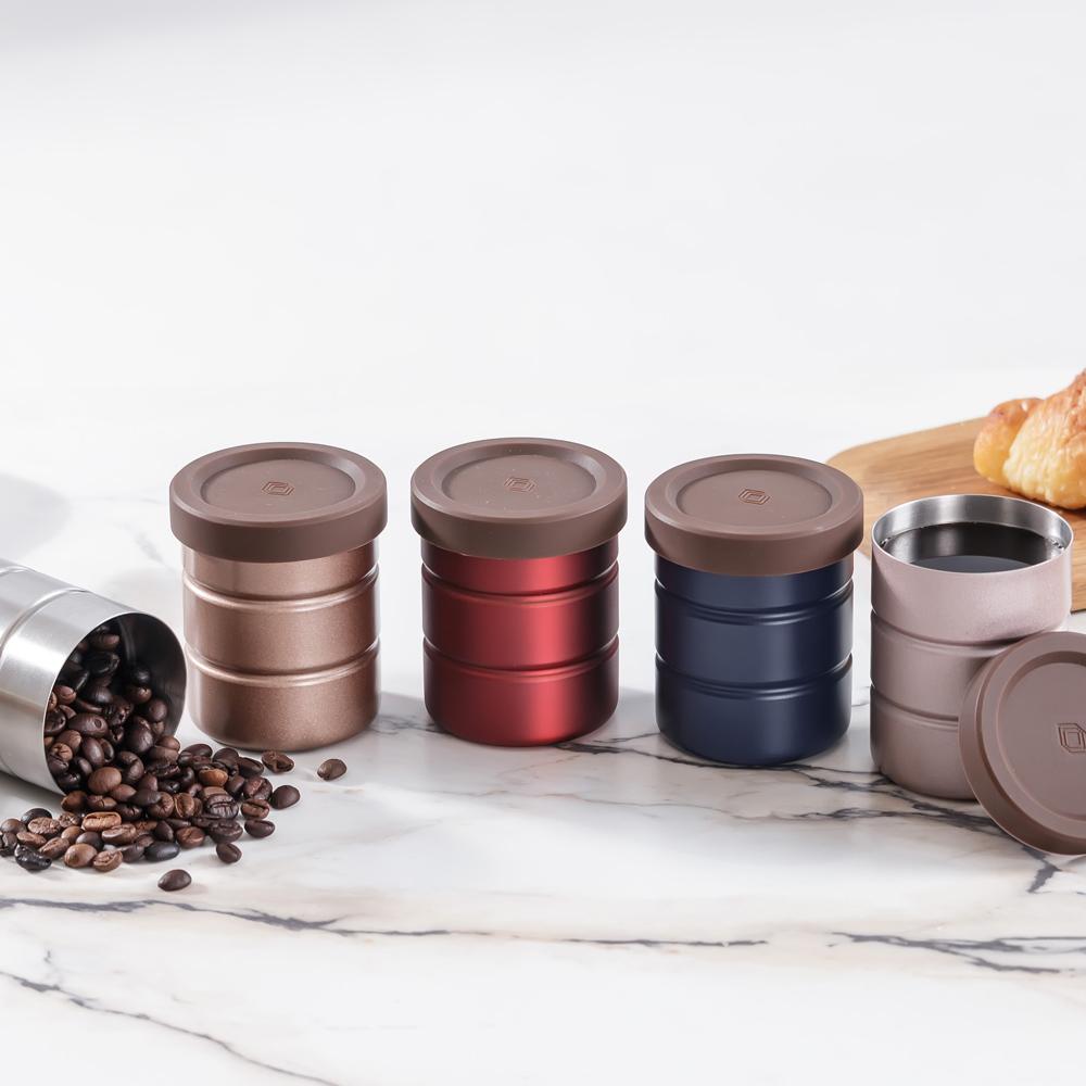 遠馸思創 304不鏽鋼(不銹鋼)食物收納罐/隨身杯- 小罐子五入組