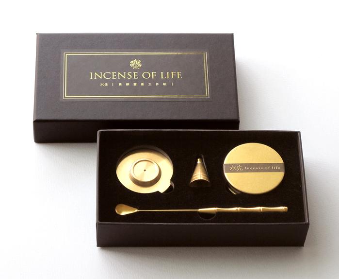 水先|生活香福袋.哲學家全系列 + 黃銅置香三件組