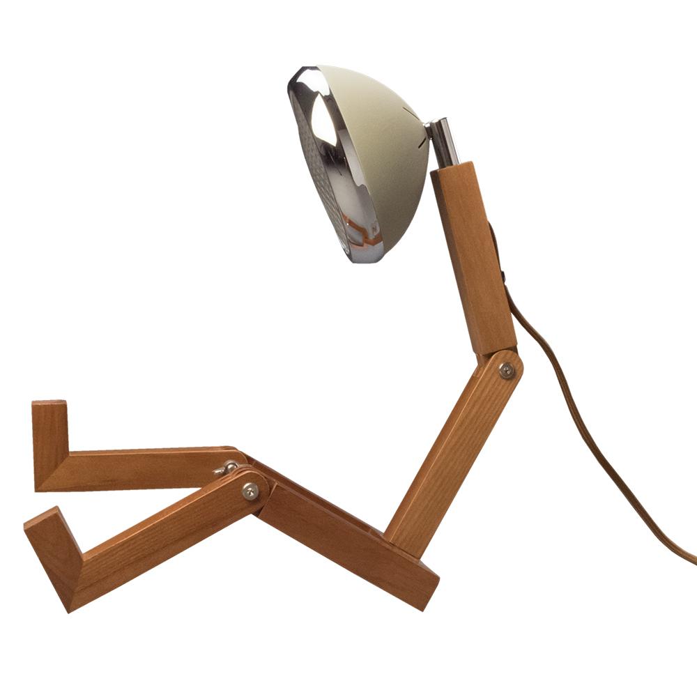 Soyee| LED梣木機器人燈(沙漠綠色)