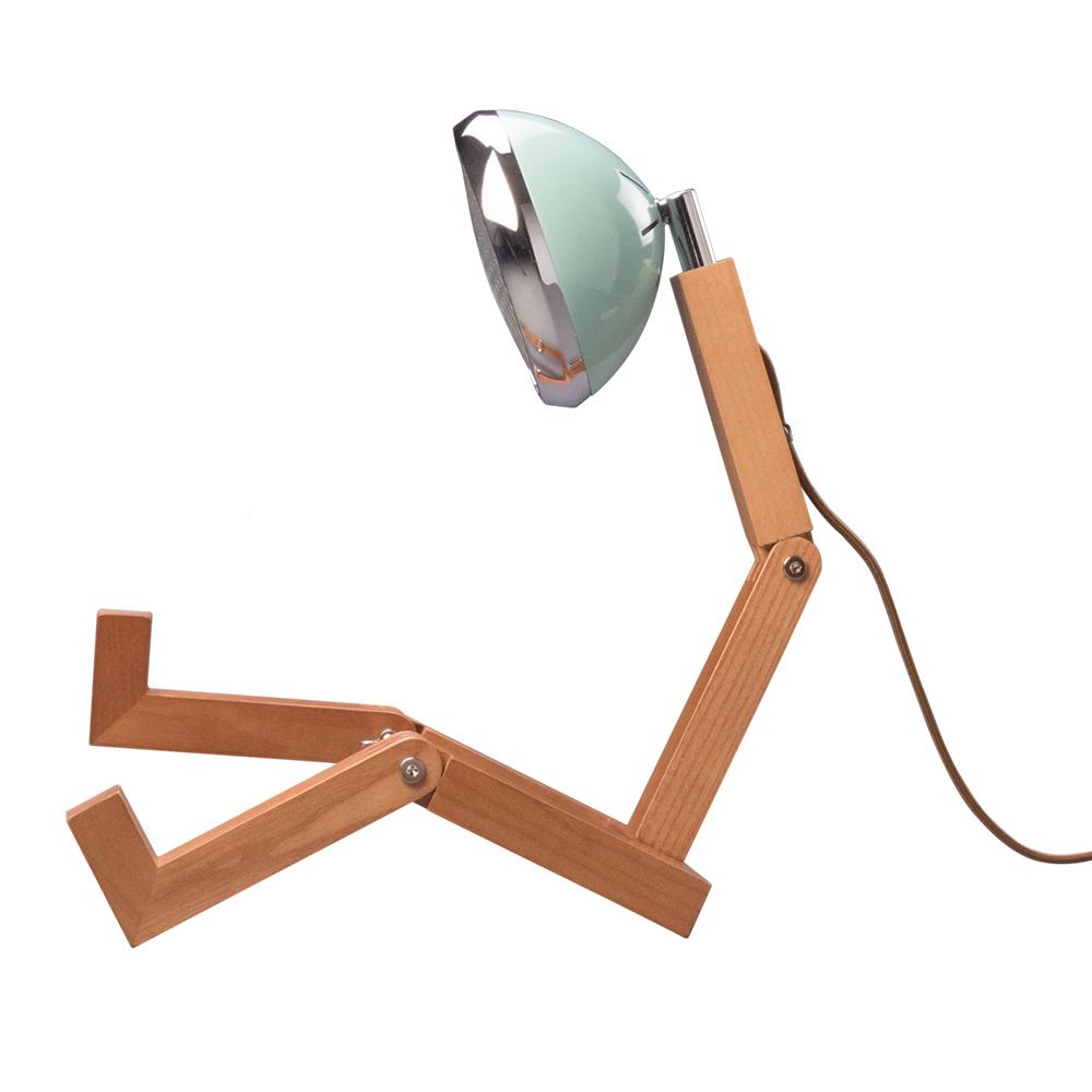 Soyee G9梣木機器人燈(蒂凡尼綠)