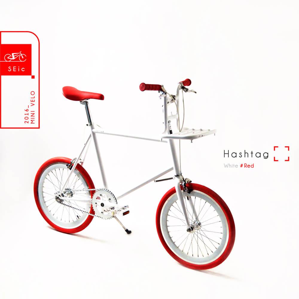 S E i c | 小徑車Mini Velo _ Hashtag (白)