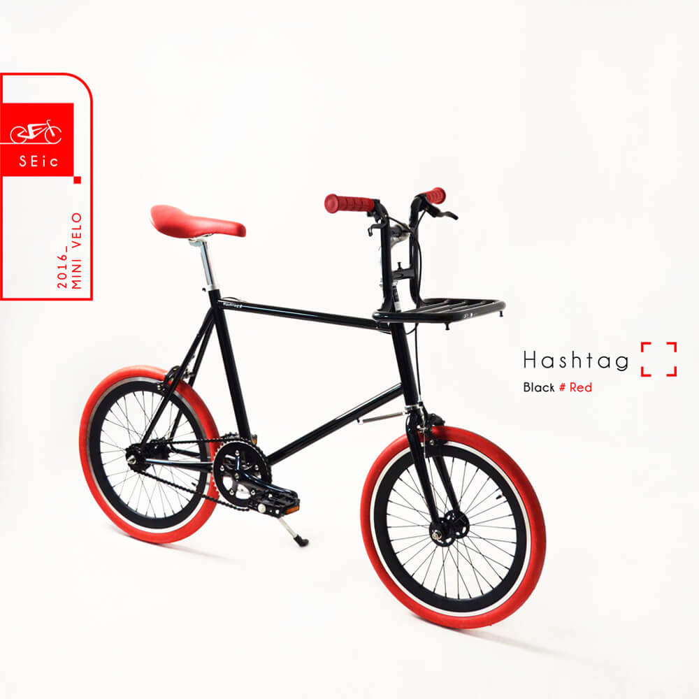 S E i c|小徑車Mini Velo _ Hashtag(黑)