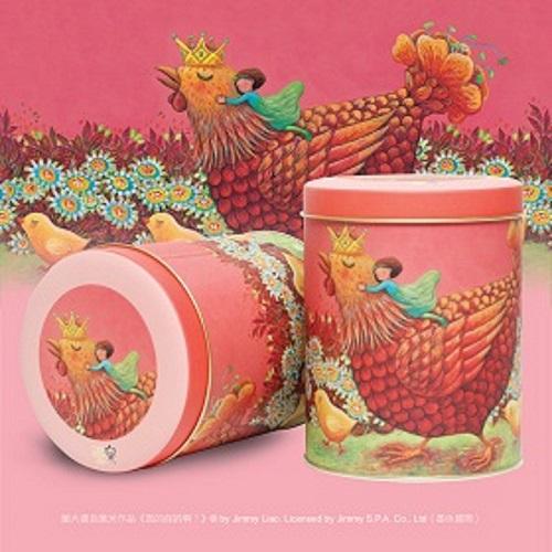米樂爆米花|幾米四入甜鹹組合 焦糖+巧克力+黃巧達+玉米濃湯爆米花
