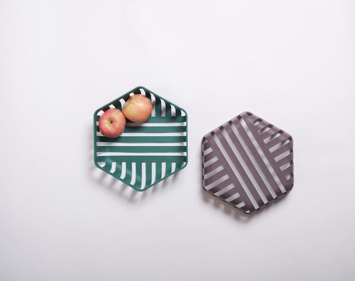 (複製)OMMO Ruff 圓形高置物籃/紫.裸 雙色可選