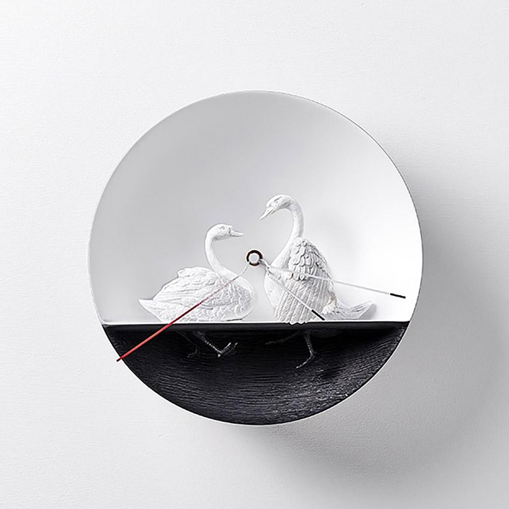 haoshi 良事設計|水鳥時鐘 - 天鵝02