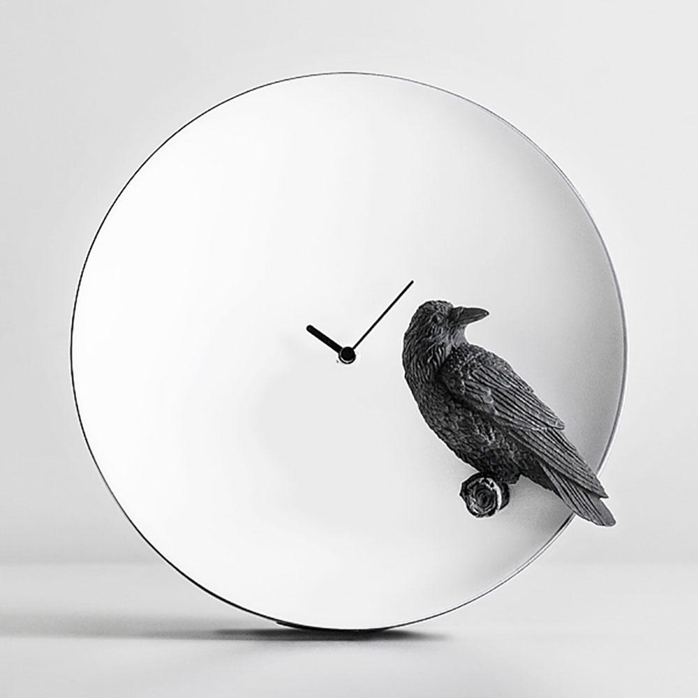 haoshi 良事設計|月亮時鐘 - 烏鴉