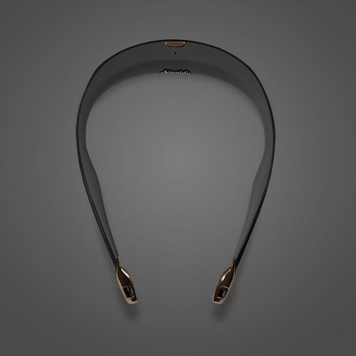 ible × Airvida 頸掛式空氣清淨機-星耀黑