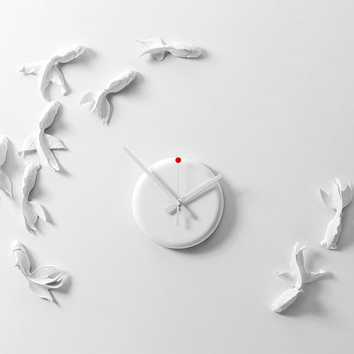 haoshi 良事設計|金魚時鐘